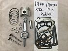 For Kohler K321 engine a 14hp Master rebuild kit complete w/free tune up, valves