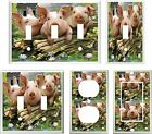 COUNTRY PIGS DOWN ON THE FARM HOME DECOR  IMAGE #4  LIGHT SWITCH COVER PLATE