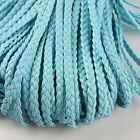 New Style Different Colors Twist-Shaped 101 PU Leather Cords Findings Lots LC