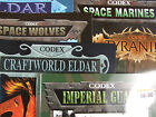 WARHAMMER 40K CODEX 3RD EDITIONS BOOKS MULTI VARIATION