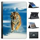 Siberian Tiger Folio Leather Case For iPad Mini & Retina