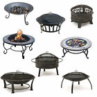 Range of Outdoor Garden Fire Pit BBQ Barbecue Patio Heater/Burner Coffee Table