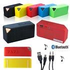 Bluetooth Mini Portable Speaker for Mobile Phones iPhone iPad MP3 Rechargeable