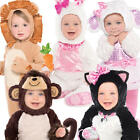 Animal Toddler 6-18 Months Fancy Dress Book Halloween Boys Girls Kids Costume