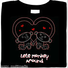Lets Monkey Around Shirt, sassy ladies Valentine's Day, love, cute ladies top