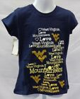 West Virginia Mountaineers Youth Short Sleeve T-Shirt Campus Couture Navy