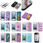 For iPod Touch 5th Generation Verge Hybrid Hard Cover Skin Case Grip+LCD Guard