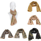 G72 Unisex Tactical Scarf Camouflage Nets Towel Jungle Scarf Practical Scarves