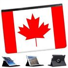 Canada Flag Folio Wallet Leather Case For iPad Air