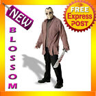 C26 Friday the 13th Jason Adult Halloween Fancy Dress Costume