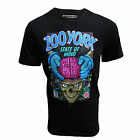 ZOO YORK T SHIRT MIND TRANSPLANT STEPHEN HALKER DESIGN MENS UK M BLACK