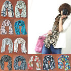Fashion Girls Womens Chiffon Soft Scarves Long Wraps Shawl Beach Silk Scarf New
