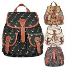 Canvas Backpack Ladies Bag Rucksack Travel Gym School College New Multi-colors