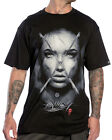 Sullen Clothing Jak Connolly Badge Mens T Shirt Black Tattoo Goth Tee