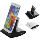 3in1 Dual OTG USB Sync Battery Charger Dock Holder For Samsung Galaxy S4 I9500