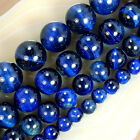 A++ Blue Tiger Eye Round Beads 6,8,10,12mm