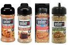 Weber Cooking Grilling Seasoning - 3 Small Tubs