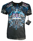 NEW XZAVIER COLLECTION HAIL THE KING T SHIRT URBAN CROWN WARRIOR BATTLE MEN'S