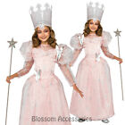 CK220 Glinda Good Witch Wizard of OZ Fancy Dress Girl Book Week Party Costume