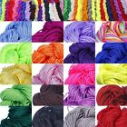 27M 1mm Braided Nylon Thread  Macrame Cord String Beading Craft Jewellery DIY