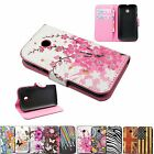 Flip Leather Skin Cover Stand Wallet Phone Case Accessories For Motorola Moto E