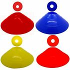 FOOTBALL RUGBY SOCCER RUNNING TRAINING SPACE MARKERS CONES DISCS ATHLETICS