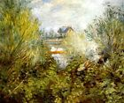 ON THE SEINE RIVER NEAR ARGENTEUIL SUMMER SKIFFING 1874 PAINTING BY RENOIR REPRO