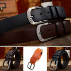 GR77 Men's New Wild Upscale Casual Leather Belt Fashion Buckle Leather Belt