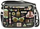 GOLA REDFORD XRAY BLACK MULTI  MESSENGER BAG SPORT UNI SCHOOL TRAVEL