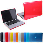 """Glossy See-Thru Crystal Hard Cover Case Shell Macbook Air Pro Retina 13"""" Laptop"""