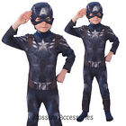 CK240 Captain America Winter Soldiers Avengers Boys Child Book Week Costume
