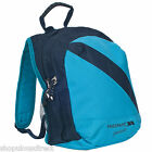 TRESPASS Blue School Kids Backpack Rucksack Plain Mini Bag Small Childrens