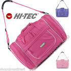 HI-TEC Ladies Girls Bag Sports Baby Overnight Gym Holdall Maternity Pink Purple