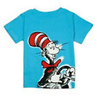 Dr Seuss T-Shirt Cat in The Hat Graphic Blue Shirt Cat in the Hat Toddler Kids