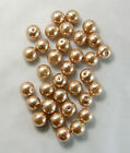 100pcs Top Quality Czech Glass Pearl Round Loose Beads 3mm 4mm 6mm 8mm 10mm 12mm фото