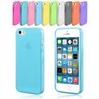 Matte Slim Soft Silicone Gel Case Cover for Apple iPhone 5 5S iPhone 6 Plus