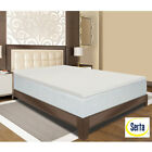 NEW Serta Deluxe 2-inch Memory Foam Mattress Topper 4 LB FULL QUEEN KING CAL
