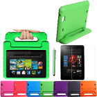 Kids Shockproof Foam Case Stand for Kindle Fire HD 7/HDX 7/8.9 + Screen Cover