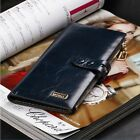 2015 Luxury Clutch Checkbook Money Clip Change Bag Women Purse Handbag Wallet