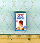 Dollhouse  Miniatures Size VINTAGE BREAKFAST Cereal box # DHB