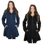 Jessica Simpson Zip Up Bow Detail Wool Coat Jacket