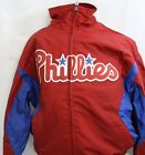 NEW Youth Kids Boys MAJESTIC Philadelphia PHILLIES Premier MLB Baseball Jacket