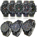 Fashion Black Stainless Steel Luxury Sport Analog Quartz Clock Men's Wrist Watch
