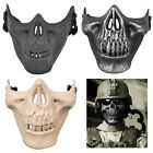 Half Face Army Skull Mask Skeleton Airsoft Paintball Hunting Protect Mask Party