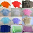Wholesale 9x12cm Premium Organza Gift Bags Wedding Party Favour Jewellery Pouch