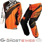 ONEAL ELEMENT 2015 RACEWEAR ORANGE ENDURO OFF ROAD DIRT BIKE MX MOTOCROSS KIT
