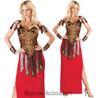 CL52 Gorgeous Gladiator Warrior Princess Roman Spartan Halloween Womens Costume