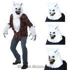 CL65 White Lycan Werewolf Big Bad Wolf Riding Hood Halloween Fairytale Costume