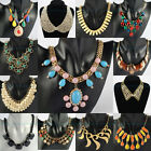 Promotion Wholesale Clearance Top Fashion Multi-color Pendant Bib Necklace