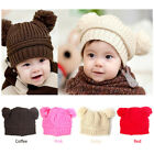 Baby Kids Cute Knitted Winter Crochet Hat Boys Girls Hat Cap Beanie Fashion